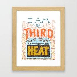 30 Rock's I Am the Third Heat Framed Art Print