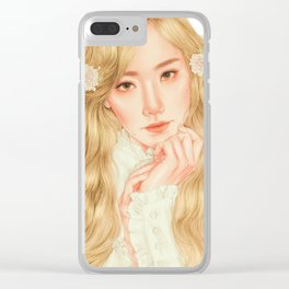 starlight [taeyeon snsd] Clear iPhone Case