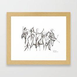Centipede 2013 Framed Art Print