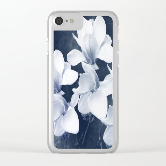Magnolia 3 Clear iPhone Case
