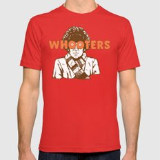 Whooters LARGE Red Mens Fitted Tee