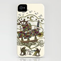 My Father was a Sailor, and My Mother, a Quilter iPhone (4, 4s) Slim Case