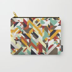 Native Geometric Carry-All Pouch