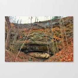 Natural bridge. Canvas Print