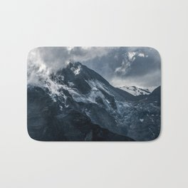 Cold morning in Alps Bath Mat