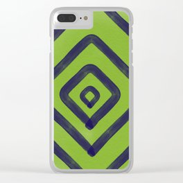 Geo Clear iPhone Case