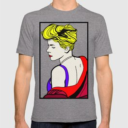 Robyn - Roy Lichtenstein Inspired Portrait 2 T-shirt