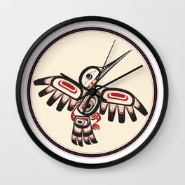 Salish Coast Humming Bird Wall Clock