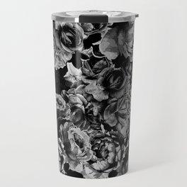 Black Roses Travel Mug