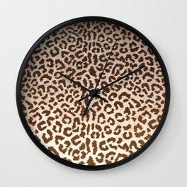 Leopard Animal Print, Leopard Throw Pillow Design, Animal Print Safari Wall Clock