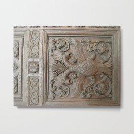 Door Detail, Yaroslavl Metal Print