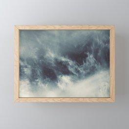 Ocean of clouds by Teresa Thompson Framed Mini Art Print