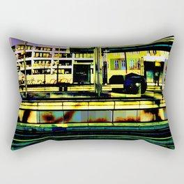 Berlin-Train Rectangular Pillow