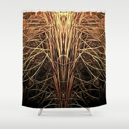 Essence of Gold Shower Curtain