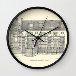 Gerlinger Hall Wall Clock