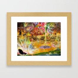 Rise of the Fallen Stars Framed Art Print