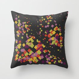 A company of friends Throw Pillow