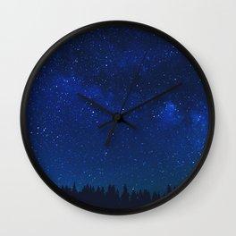 WATCHING THE STARS Wall Clock