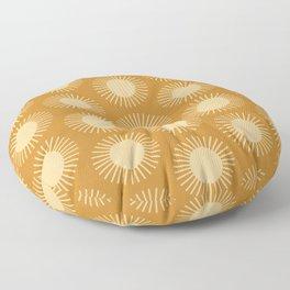 Golden Sun Pattern II Floor Pillow