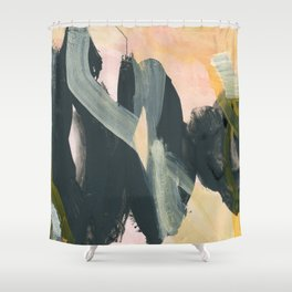 abstract painting IV Shower Curtain