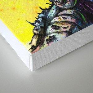 The Deceitful Siren Canvas Print