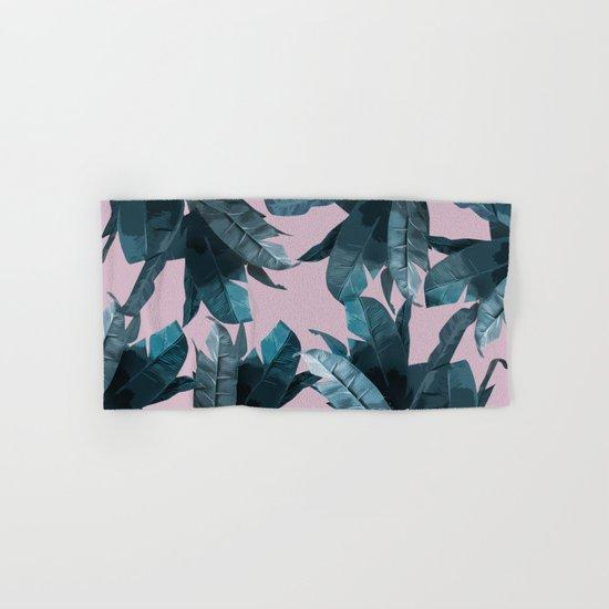 Tropical Palm Print #2 Hand & Bath Towel