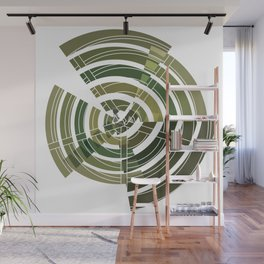 Exploded view camouflage Wall Mural