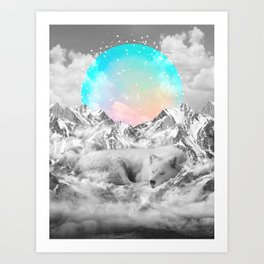 Put Your Thoughts To Sleep Art Print