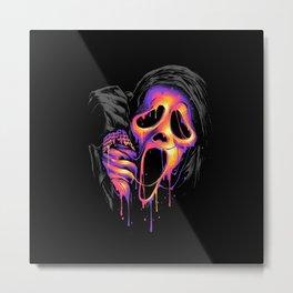 ghostface Metal Print