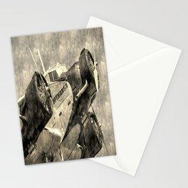 Lufthansa Junkers Ju 52/3m Vintage Stationery Cards