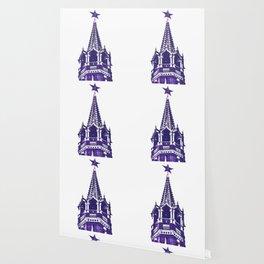 Kremlin Chimes-violet Wallpaper