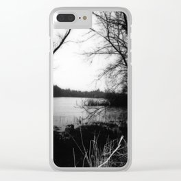 Shannon Bank No.2 Clear iPhone Case