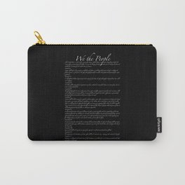 Bill of Rights US Constitution Carry-All Pouch