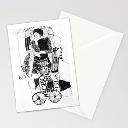 thinking-transport Stationery Cards