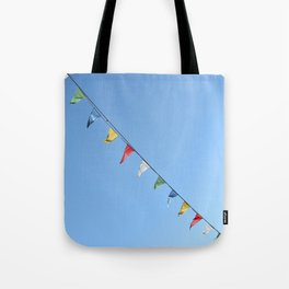 Colorful and minimal party Tote Bag