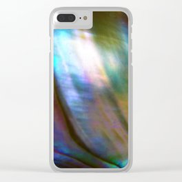 Mother of Pearl Clear iPhone Case