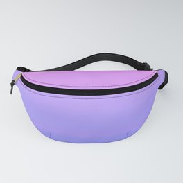 Pastel Pink Blue Stripes | Abstract gradient ombre pattern Fanny Pack