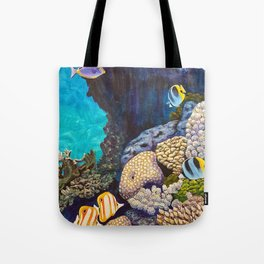 The Gathering - Coral Reef Tote Bag