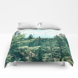 The World As We Know It #nature #digitalart Comforters