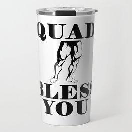 Quad Bless You Travel Mug