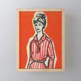 Fashion ´65 # 6 Framed Mini Art Print