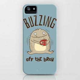 Buzzing off the Brew iPhone Case