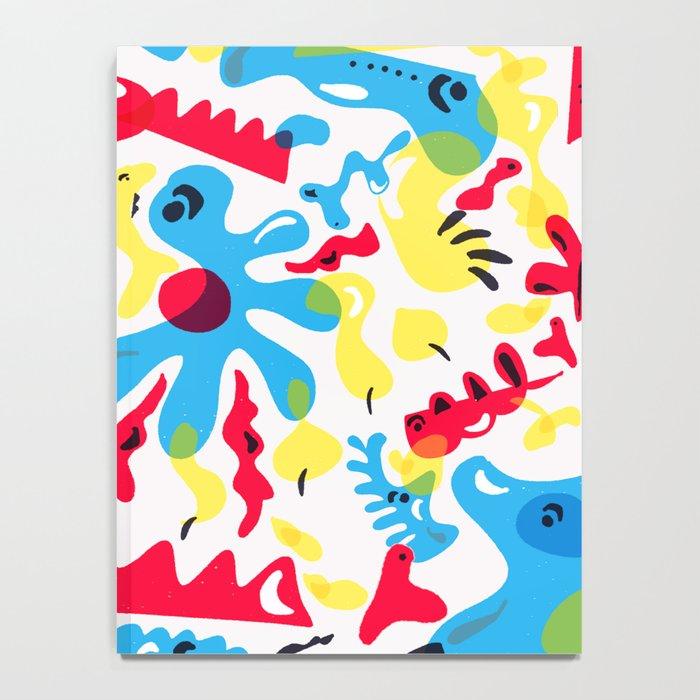 Kid Zoo Doodle Notebook