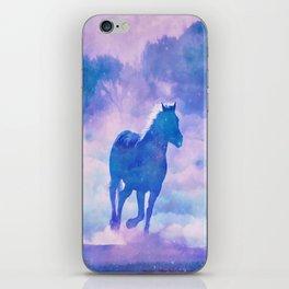 Horses run iPhone Skin