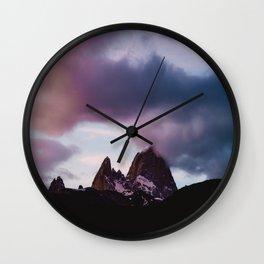 Mt. Fitz Roy Wall Clock