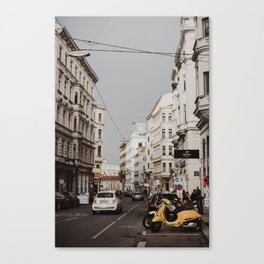 The streets of Vienna Canvas Print