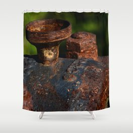 Rust - I Shower Curtain