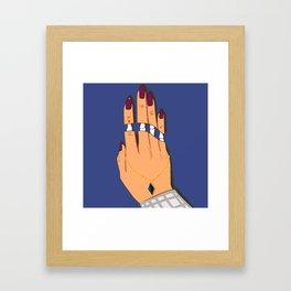 Deadly Touch Framed Art Print
