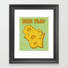 Beer Trap Framed Art Print