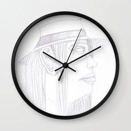 Random Girl 1 Wall Clock